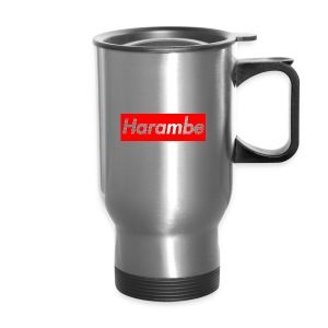 Harambe x Supreme Box Logo - Travel Mug