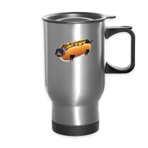 Hot Dog Literally - Travel Mug