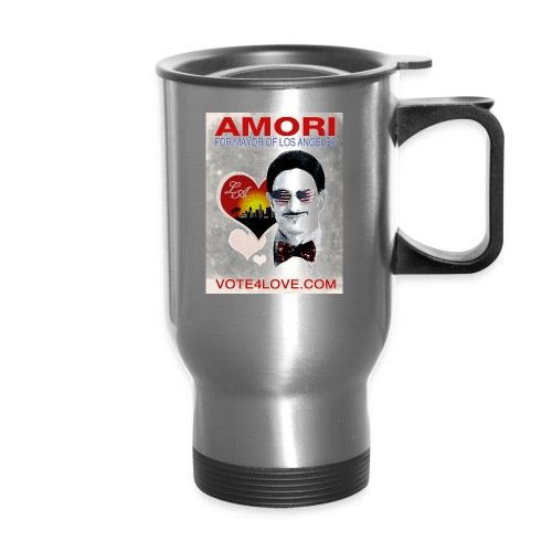 Amori for Mayor of Los Angeles eco friendly shirt - Travel Mug