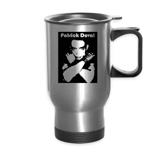 Patrick Doval Logo - Travel Mug