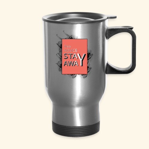free advice - Travel Mug