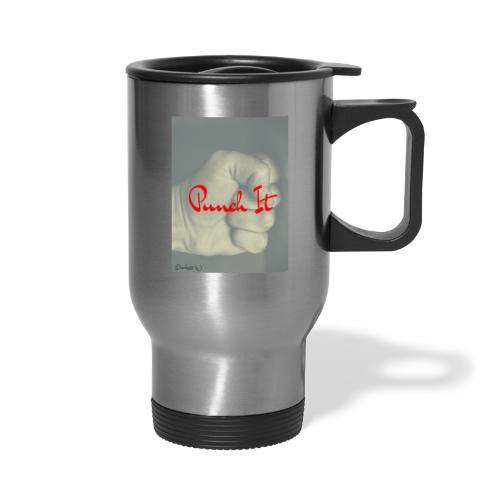 Punch it by Duchess W - Travel Mug