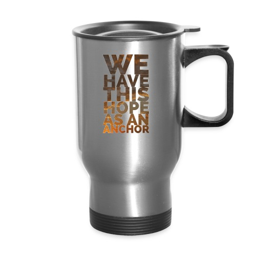 hebrews 6:19 - Travel Mug