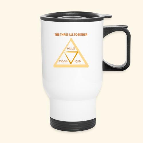 Run4Dogs Triangle - Travel Mug