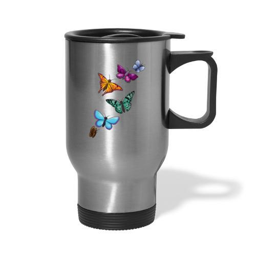 butterfly tattoo designs - Travel Mug