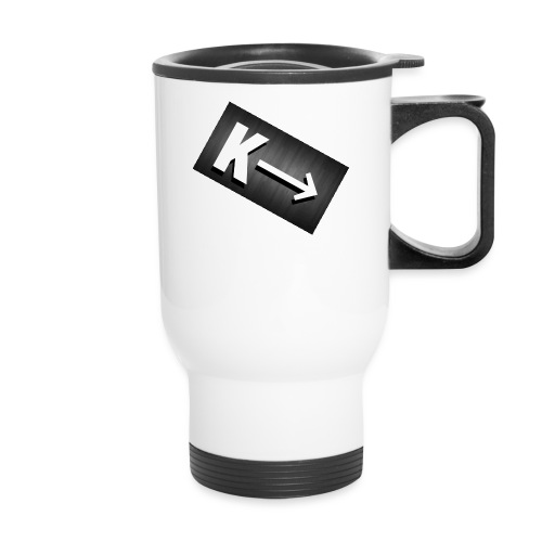 Water bottle - Travel Mug with Handle