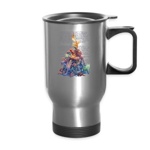 Answer to the Question Dragons - Travel Mug