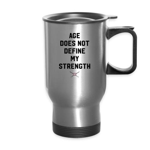 age strength black - Travel Mug