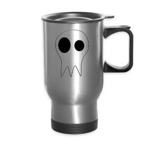 The Grims Skull Logo - Travel Mug