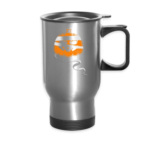 Halloween Bandaged Pumpkin - Travel Mug