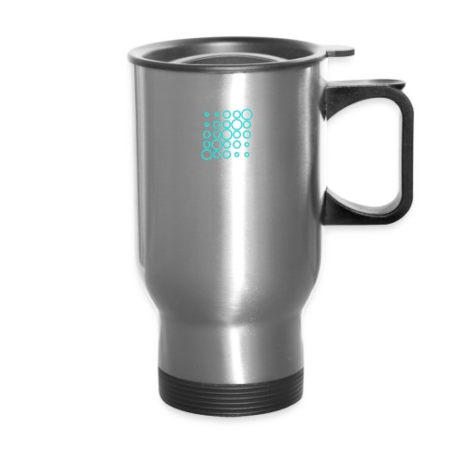 Ventana Tribe White Logo - Travel Mug