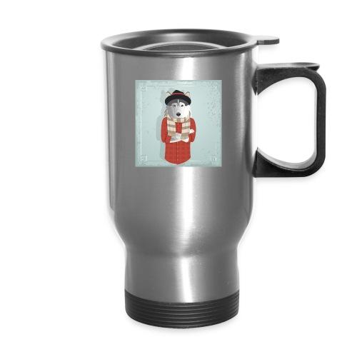 Hispter Dog - Travel Mug