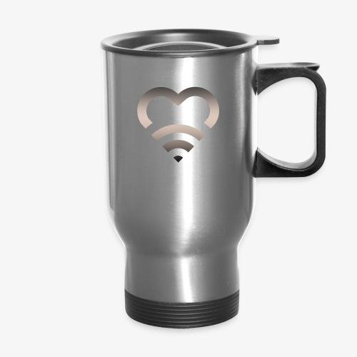 I Heart Wifi IPhone Case - Travel Mug