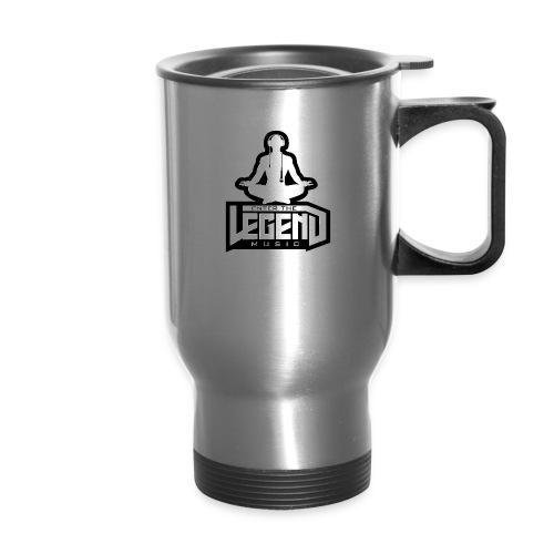 Enter The Legend Music B/W - Travel Mug