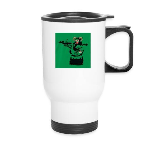 Baskey mona lisa - Travel Mug