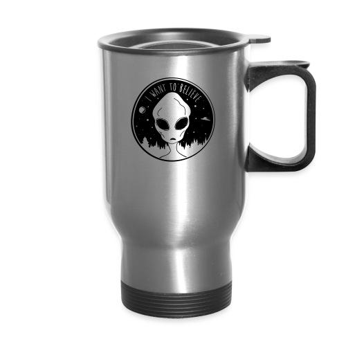 I Want To Believe - Travel Mug