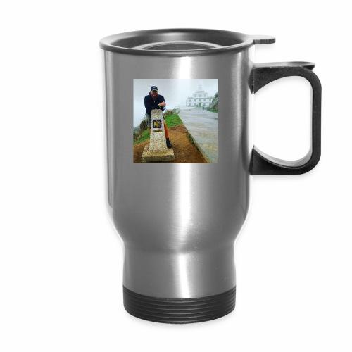 Camino 0.00 KM Backpacker Mike - Travel Mug