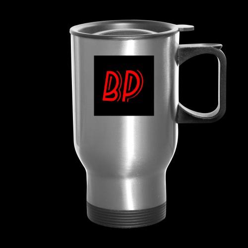 BP (BmanthePredator Logo) - Travel Mug