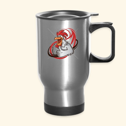 cartoon chicken with a thumbs up 1514989 - Travel Mug