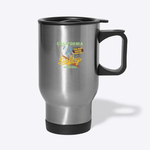 California Surfing Paradise - Travel Mug