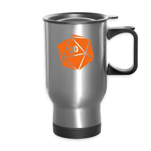 D20 Winter Toque - Travel Mug