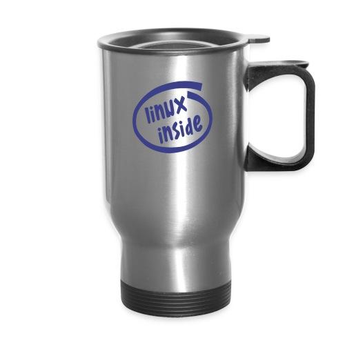 linux inside - Travel Mug