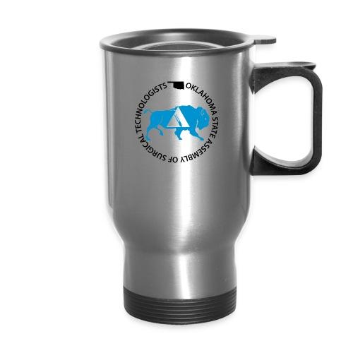OKSAlogowhite - Travel Mug