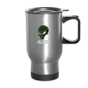 Military Alien - Travel Mug
