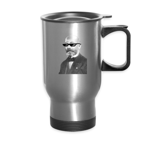 Zamenhof Shades (BW) - Travel Mug