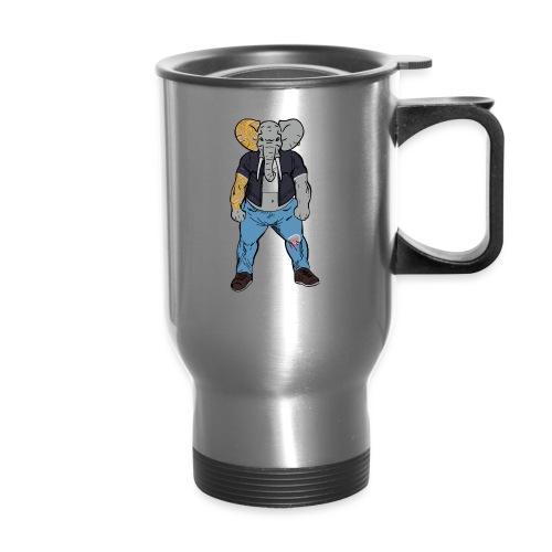 Dumbo Fell in the Wrong Crowd - Travel Mug
