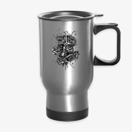 Dagger And Snake - Travel Mug