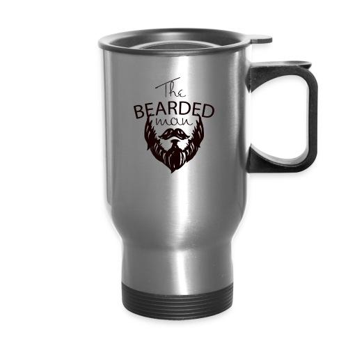 The bearded man - Travel Mug