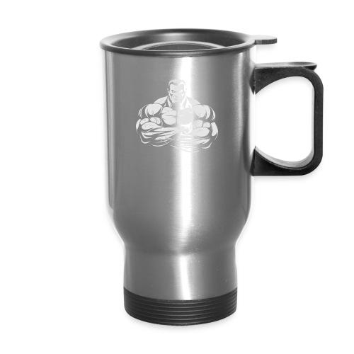 An Angry Bodybuilding Coach - Travel Mug