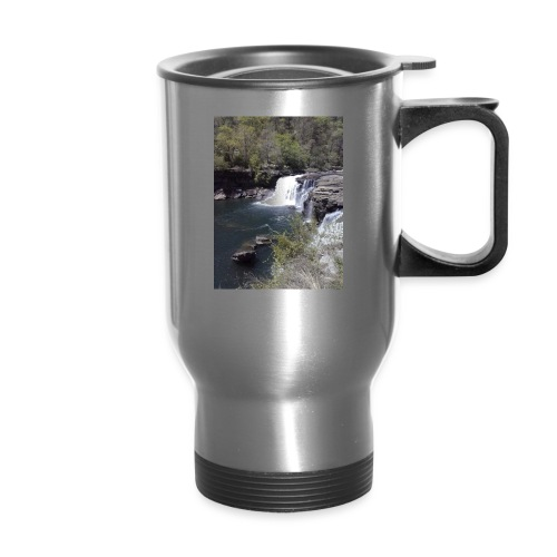 LRC waterfall - Travel Mug