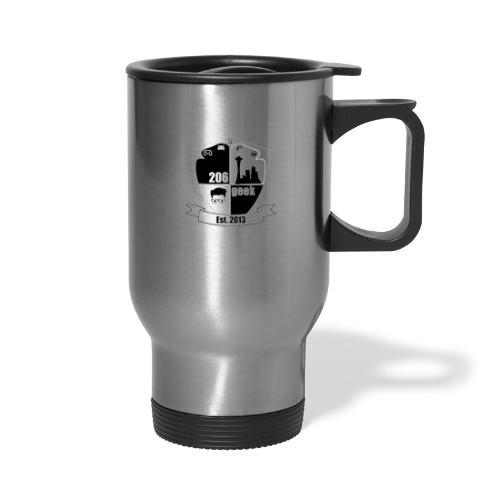 206geek podcast - Travel Mug with Handle