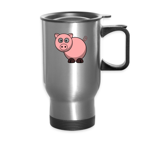 Funny Pig T-Shirt - Travel Mug