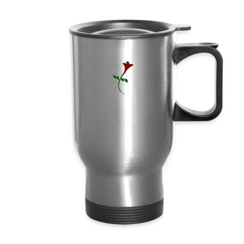 Street Rose rose - Travel Mug