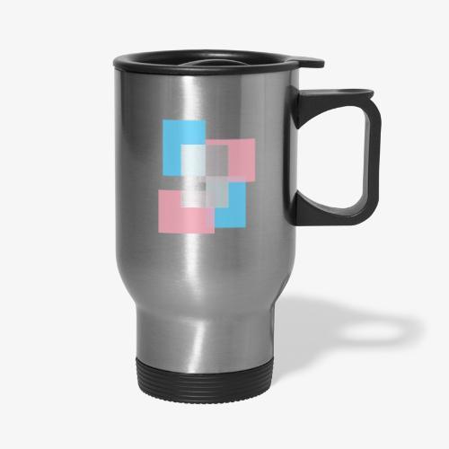 Transgender Pride Logo - Travel Mug