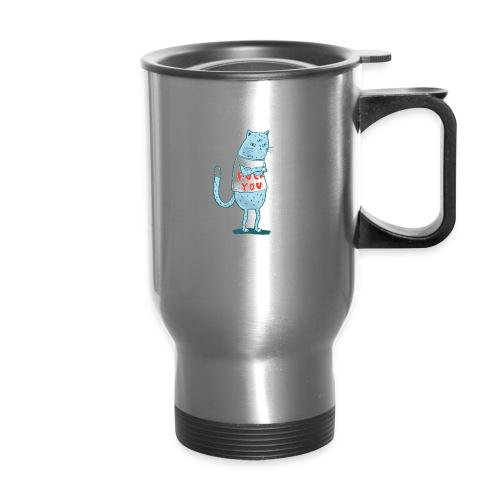 Sociopath Cat - Travel Mug