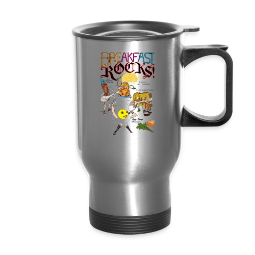 Breakfast Rocks! - Travel Mug