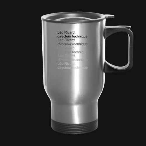 LEO TECHNICAL Rivard - Travel Mug
