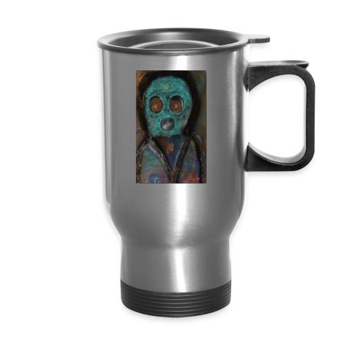 The galactic space monkey - Travel Mug