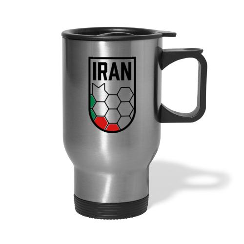 Iran Football Federation Crest - Travel Mug