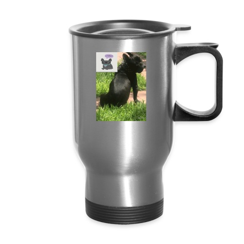 french bulldog - Travel Mug