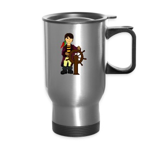 Alex the Great - Pirate - Travel Mug