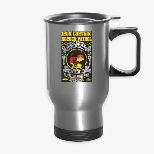 Border Patrol design for accessories - Travel Mug