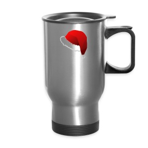 Carmaa Santa Hat Christmas Apparel - Travel Mug