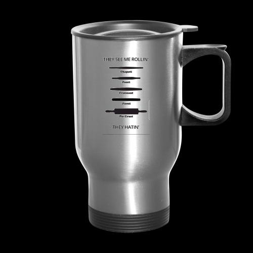 Rolling pin - Travel Mug with Handle