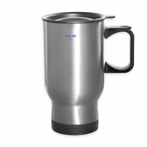 wavy3 - Travel Mug