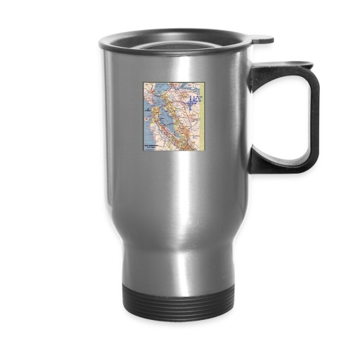 Phillips 66 Zodiac Killer Map June 26 - Travel Mug